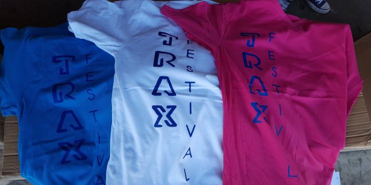 Meewerken aan TRAX Festival
